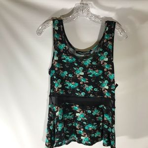 🍍Absolute angel flower tank top. NWT